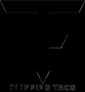 flipping taco