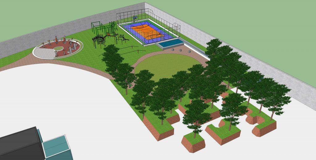 Freerun park design
