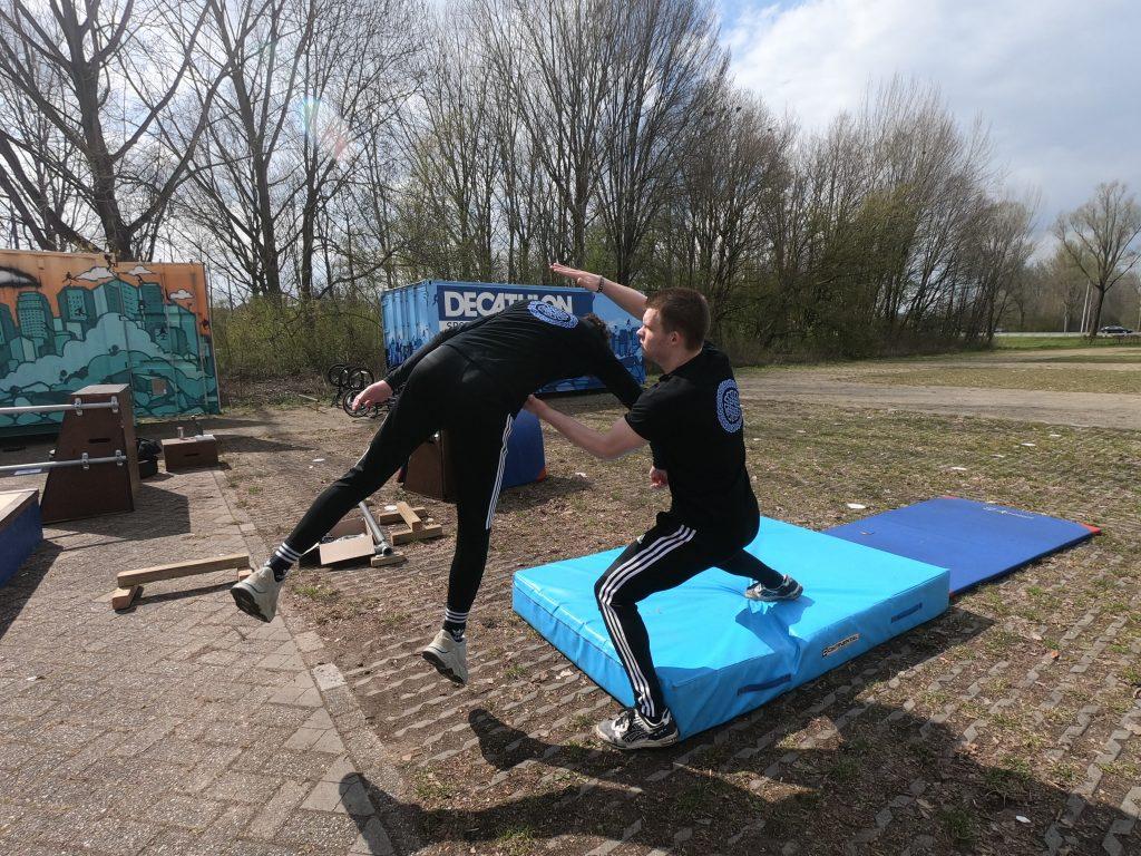 freerunning in doetinchem
